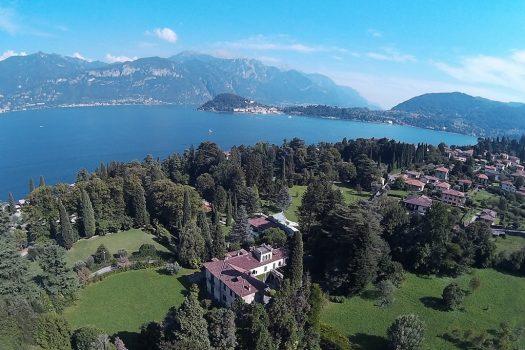 period villa in griante