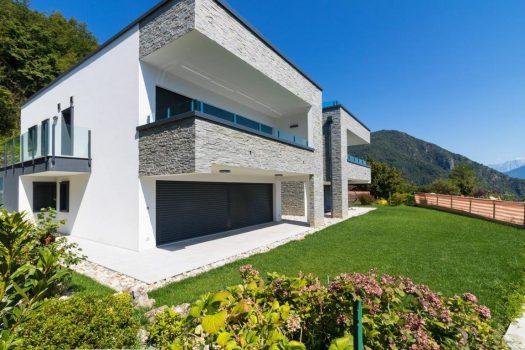 modern villa in menaggio