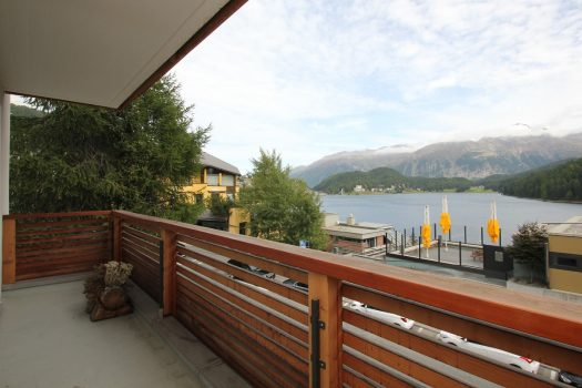 apartment in St Moritz with lake view