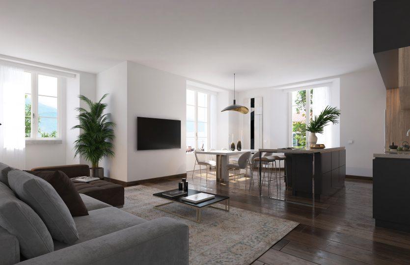 brand new apartments in Menaggio