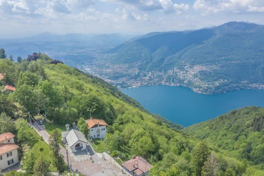 Cottage in Como with incredible lake view