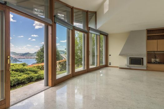 Villa in Cernobbio with lake view and pool