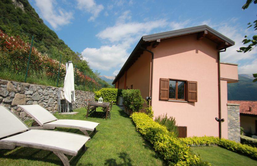 Villetta a schiera lago di Como