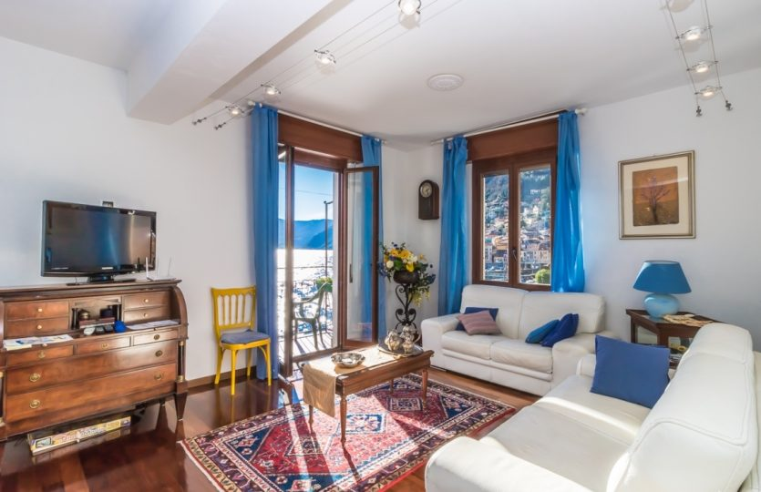 precious apartment in Argegno