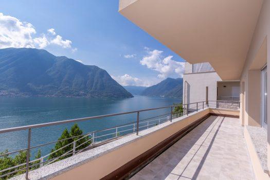 Villa moderna a Colonno - vista lago stupenda - solarium