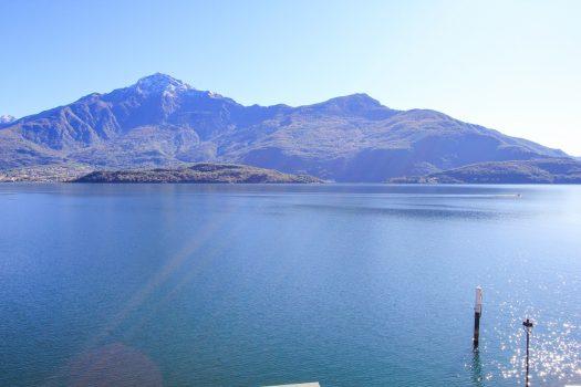 Monolocale a Domaso fronte lago