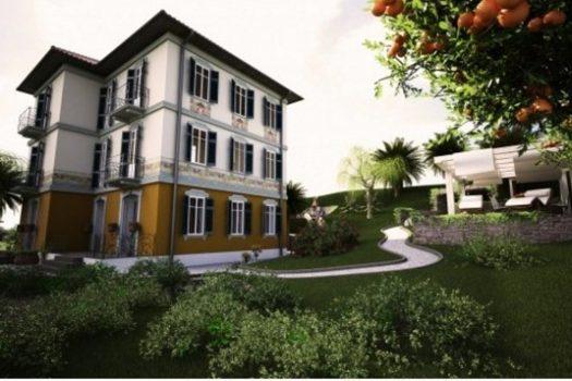 villa liberty in Tremezzina