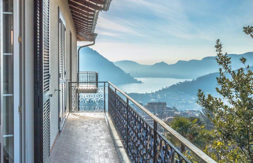 Villa a Cernobbio con ampio giardino e terrazze