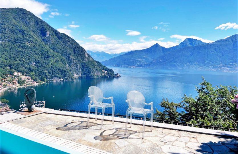 villa con vista lago a menaggio