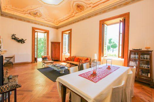 appartamento in villa in tremezzina