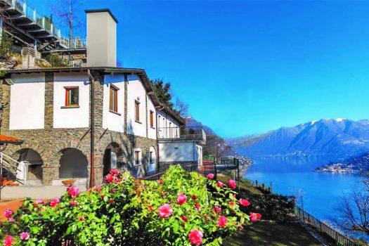 Villa a Cernobbio con incantevole vista lago