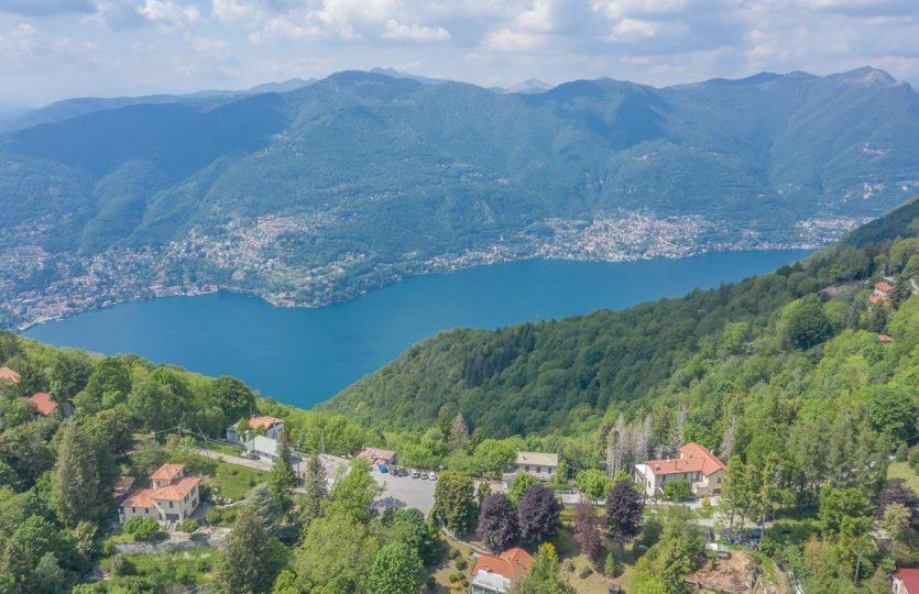 Proprietà rustica a Como con incredibile vista lago