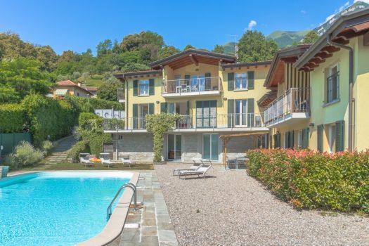 Residence con piscina a Griante