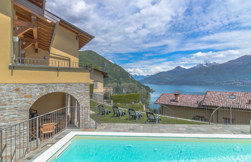 Villa with swimming pool and lake view in Menaggio
