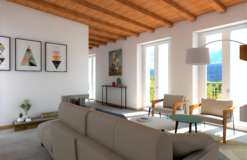 Nuovissimi appartamenti a Pianello del Lario- vista lago