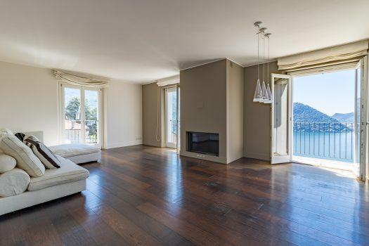 Moderno appartamento a Cernobbio con vista lago