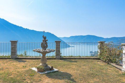 Villa a Cernobbio con giardino e incantevole vista lago