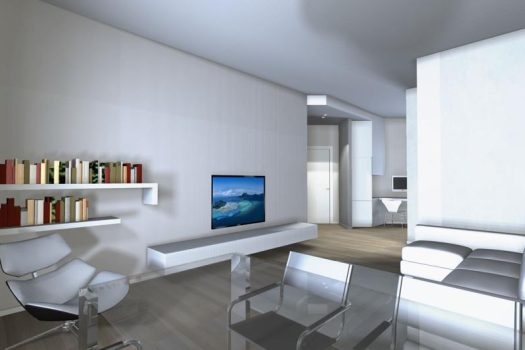 Luminoso appartamento a Cernobbio con balconi