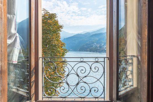 Villetta a Moltrasio con incantevole vista lago